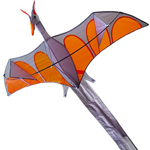 ZHUOYUE Dinasaur Kite Huge Single Line 3D Kite for Children and Adults, Easy to Fly for the Beach Park and Outdoor