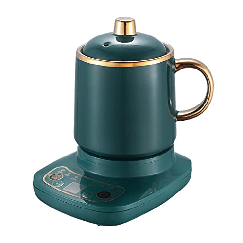 SSMDYLYM Mini Tetera térmica eléctrica Taza de calefacción de Agua de cerámica...