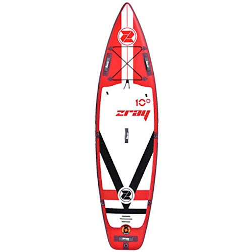 ZRAY UP Fury 10' - Stand Up Paddle Gonflable - Charge Max 122 Kg - 305 x 81 x 15 cm - Dropstitch...