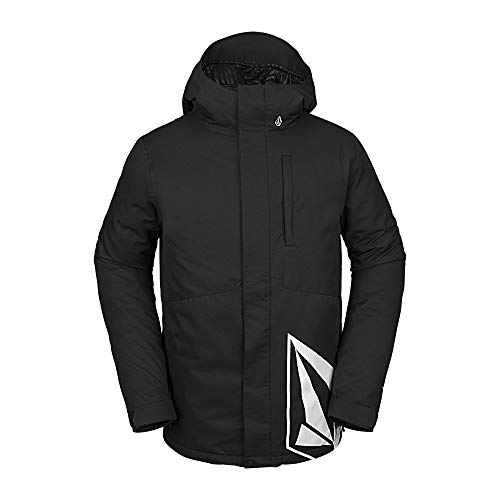 Volcom Men's 17 Forty Insulated Snow Jacket, Black, Large