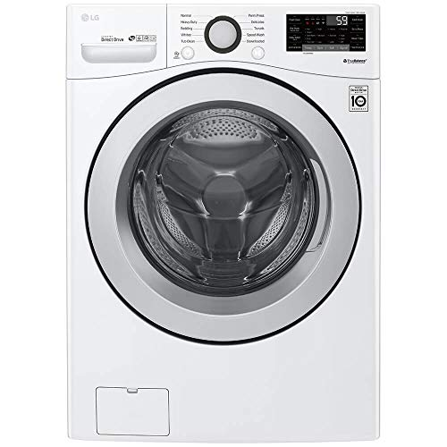 LG WM3500CW 4.5 Cu. Ft. White Front Load Washer