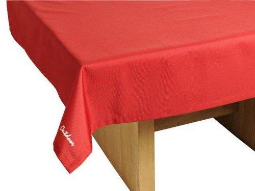 St. tropez nappe de table outdoor table de jardin table rouge plaid lavable 140 x 240 cm