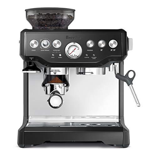 Breville BES870BSXL The Barista Express Coffee Machine, Black Sesame (Renewed)