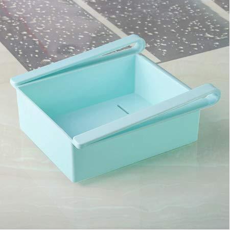 esealainjz Einstellbare Dehnbare Kühlschrank Organizer Schubladenkorb Kühlschrank ausziehbare Schubladen Frische Spacer Layer Lagerregal