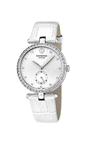 Candino Damen Analog Quarz Uhr mit Leder Armband C4563/1
