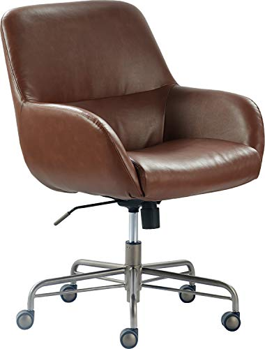 Finch Forester Home Office Chair, Cognac Brown