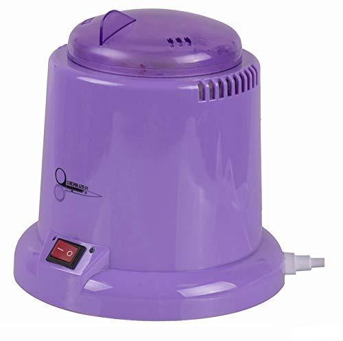 Cris Nails ® Esterilizador de 100W con Bolas de Cuarzo - Instrumento desinfección y Limpieza a 250 Grados - para manicura y pedicura (Violeta)