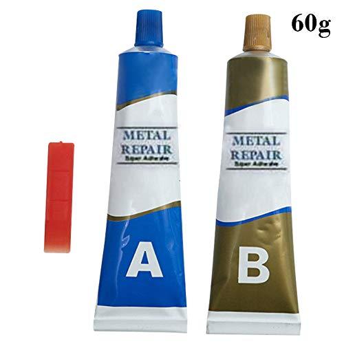 Gelentea Industriële Reparatie Plakken Lijm Hittebestendigheid Koude Weld Metalen Reparatie Plakken Crack Sealant Industriële Reparatie Agent 60 g.