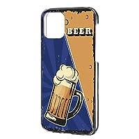 ハードケース すまほケース iPhone 12 Pro Max 6.7インチ 用 BEER ビール・ブルー ビンテージ アメリカン レトロ USA Apple アップル アイフォーン12 プロ マックス docomo au SoftBank SIMフリー スマホカバー けーたいケース 携帯カバー beer_00x_h191@02