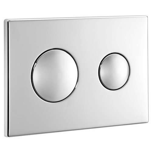 Ideal Standard S4399AA Chrome Dual Flush Plate -Chrome