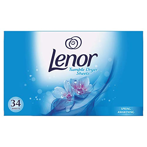 Lenor - Asciugatrice in tessuto per asciugatrice, 34 pezzi