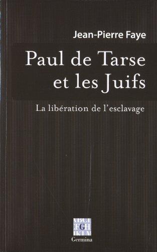 Paul de Tarse et les Juifs