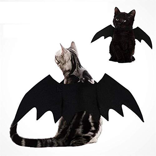 HAMISS huisdier vleermuis hond kostuums vleugels vampier schattig Fancy dress up halloween kat kostuum voor partij decoratie