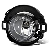 DNA Motoring FL-OEM-0052 1Pc LH/RH OEM Fog Light [Replace for 05-18 Nissan Frontier/Xterra],Clear