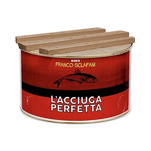 Box Regalo ' L'acciuga perfetta ' limited Edition Filetti di acciughe di Sciacca creato da Sir Franco Sclafani