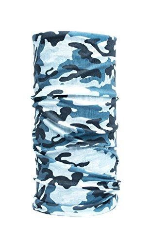 Nexi Multifunktions Tuch Schlauchtuch - universell einsetzbar als Schal, Kopftuch, Kälteschutz - Multicolour M02