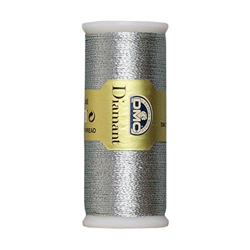 DMC Diamant Metallic Needlework Thread, 38.2-Yard, Dark Silver (010288)