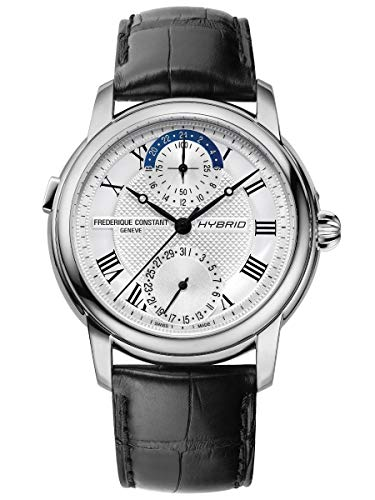 Frederique Constant Classic Hybrid Manufacture Automatic Movement Silver Dial Men's Watch FC-750MC4H6