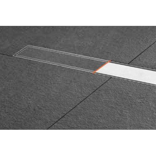 Duschrinne Easy Drain ESS Basic Komplett Set befliesbar/Edelstahl gebürstet 900mm / 90cm
