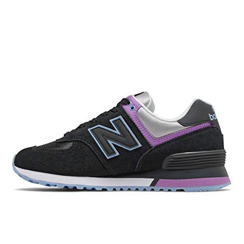 New Balance 574v2, Zapatillas Mujer, Negro (Black SAU), 37.5 EU