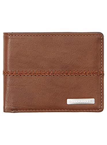 Quiksilver Accesorio de Viaje- Billetera Plegable Triple, marrón