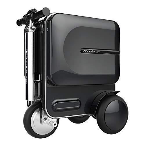 Airwheel Maleta inteligente SE3 para montar (montar), equipaje, scooter inteligente con varilla elástica oculta