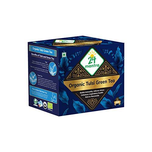 24Mantra Organic Tulsi Green Powder, 250 g