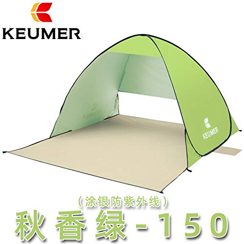 SDSA Automatic Pop-Up 2 People Ultralight Waterproof Tent, Park, Beach, Outdoor Leisure And Indoor Activities, 150*180*100cm