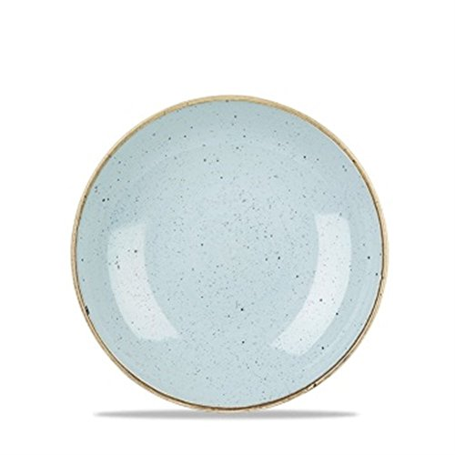 Churchill Stonecast Coupe - Plato (16,5 cm, 12 unidades), color azul