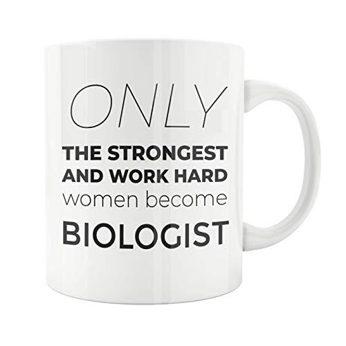 Taza de biología para regalo de biología, regalo para biólogos, profesores, regalo para biólogos, naturaleza, taza para su biología o biología