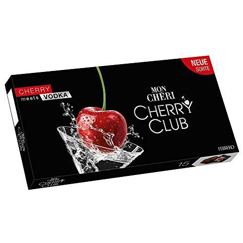 Mon Cheri Cherry Club Cherry meets Vodka 3er Pack (3x157g Packung) plus usy Block
