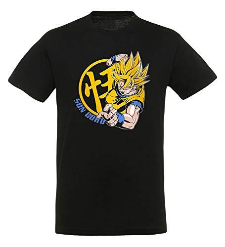 ABYstyle abystyleabytex261-m Abysse Dragon Ball DBZ/Goku Super Saiyan kurzen Ärmeln Mann Basic T-Shirt (mittel)