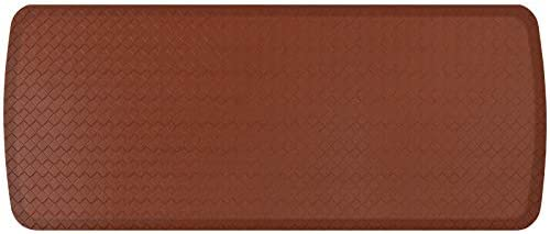 GelPro Elite Premier Gel Foam Anti Fatigue Kitchen Floor Comfort Mat 20 x 48 Basketweave Chestnut product image