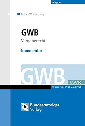 GWB – Kommentar: Vergaberecht
