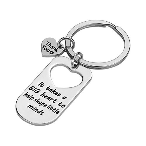Teacher Appreciation Gift for Women - Teacher Keychain Teacher Jewelry Teacher Gifts,Thank You Gifts for Teacher, Christmas Gifts for Teacher Valentine's Day Gift Photo #2