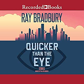 Quicker Than the Eye audiobook cover art