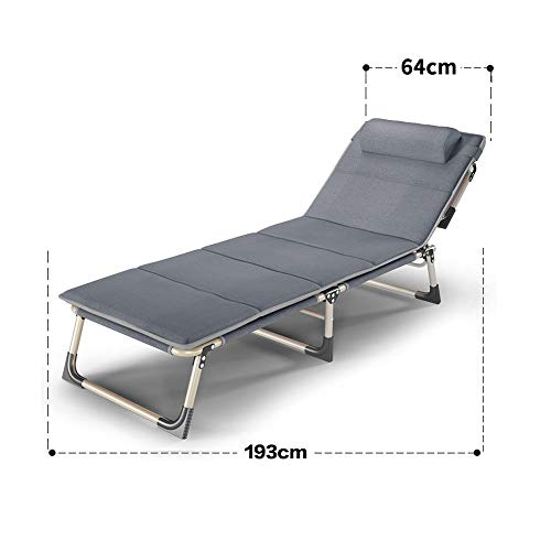 YLCJ Vouwtafel voor opklapbare bureaustoel Vouwstoel (afmetingen: 56 * 190 cm) 64 * 193cm+mat