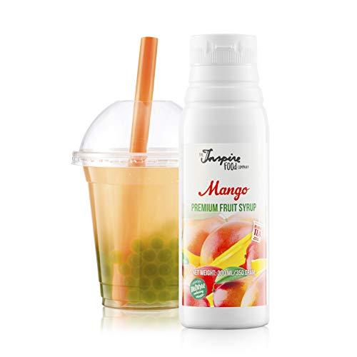 Fruchtsirup für Bubble Tea - 300ml - Mango - Ohne künstliche Farbstoffe - 100% Vegan und Glutenfrei