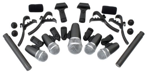 Pronomic Sistema micrófonos batería DMS-7