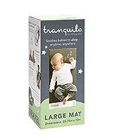 Tranquiloマット:スリープ&プレイタイム&疝痛用ポータブルなだめるような振動のベビーマット - 大:幼児0-12ヶ月