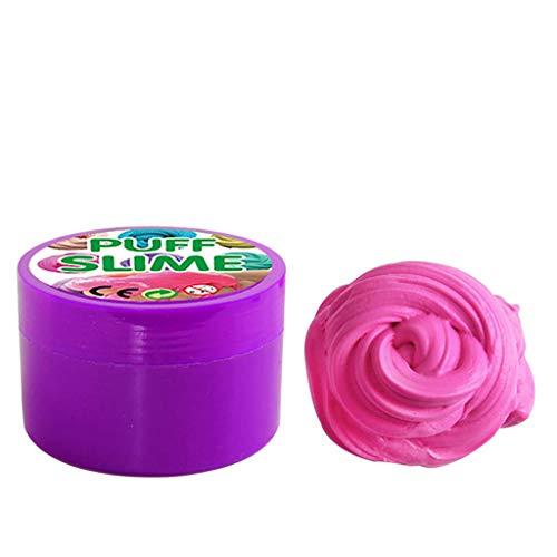 Mullido Slime, PUTTY Slime Kit Supplies DIY Slime Supplies Slime Aromaterapia Presión Niños Toy Slime Toy Bouncing Bañeras Juguetes for niños adolescentes Adultos for alivio del estrés (azul claro) li