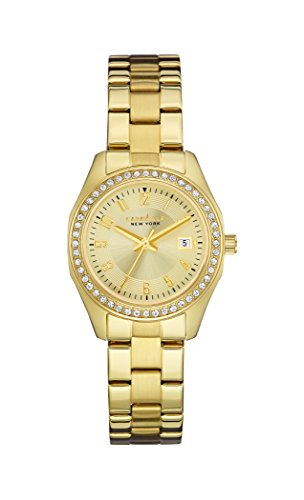 Caravelle NY Ladies Crystal 44M108 - Orologio da Polso Donna