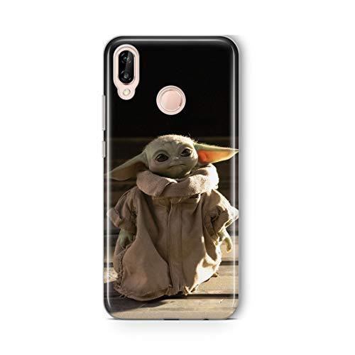 Original & Offiziell Lizenziertes Star Wars Baby Yoda Handyhülle für Huawei P20 Lite, Hülle, Hülle, Cover aus Kunststoff TPU-Silikon, schützt vor Stößen & Kratzern