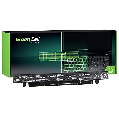 Green Cell Batería A41-X550A A41-X550 para Asus X550C R510 X550CA X550CC R510L X550V R510C R510CA R510J R510JK X550 X550L A550 F550L R510LA F550J R510LB R510CC R510VC (2200mAh 14.8V Noir)
