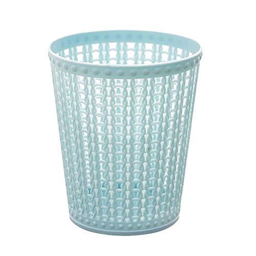 Kitchen UtensilsSimple Desktop Litter Trash For Desktop Office Waste Bin Can Desktop Litter Trash-blue