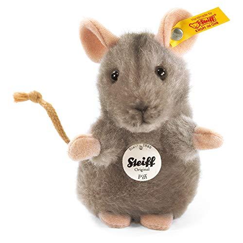 Steiff 056222 Piff 10 grau aufwartend Maus