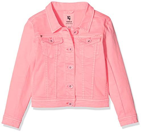 Garcia Kids Mädchen N04452 Jacke, Rosa (Shocking Pink 2466), 128 (Herstellergröße: 128/134)