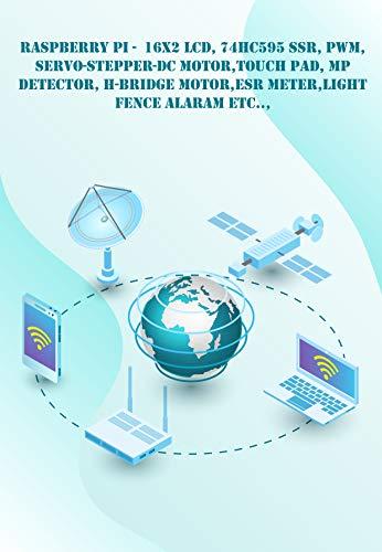 Raspberry Pi - New Technology : 16x2 LCD, 74HC595 SSR, PWM, Servo-Stepper-DC Motor,Touch...