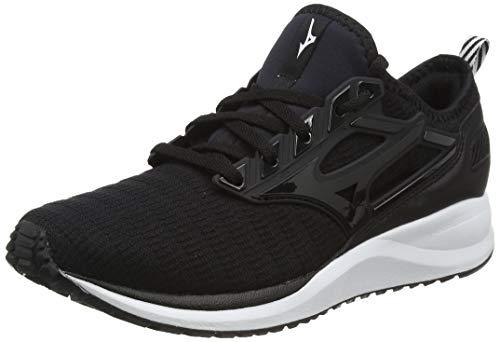 Mizuno Ezrun CG, Zapatillas de Running Mujer, Negro (Black Black 09), 37 EU