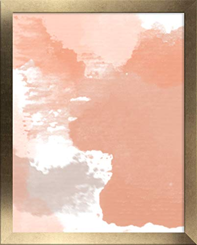 Homedecoratie fotolijst Misano 25 x 35 cm in vintage goud met antireflecterende acrylglas 1 mm